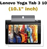 "M.G.R.J Pro HD+ Tempered Glass Screen Protector for Lenovo Yoga Tab 3 10 Tablet (10.1"" inch)"