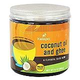 Kelapo Coconut Oil & Ghee 50/50 Blend - 13 Fl Oz | Pack of 12