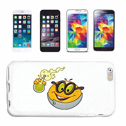 """cas de téléphone iPhone 6 """"CHEMIE SMILEY EN LABORATOIRE L'EXPÉRIENCE """"sourire EMOTICON sa SMILEYS SMILIES ANDROID IPHONE EMOTICONS IOS APP"""" Hard Case Cover Téléphone Covers Smart Cover pour Apple iPho"""