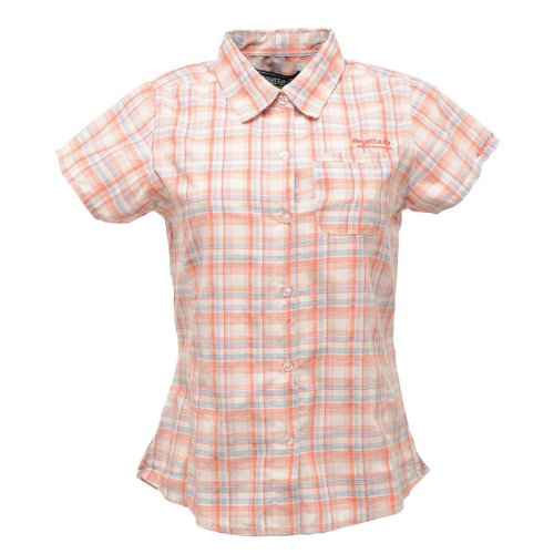 Regatta Womens Tamika Shirt Pink Peach Bloom