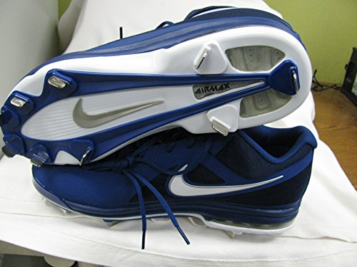 Nike Air Max Mvp Elite 3/4 Chaussures De Baseball En Métal Bleu Marine Taille 12.5