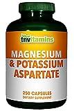 Magnesium And Potassium Aspartate Complex – 250 Tablets