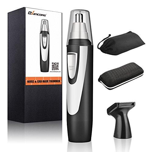 Best Nose Hair Trimmer for Men Women, eSamcore Professional Nostril Ear Hair Trimmer Clipper [Waterproof]