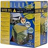 Coolaroo Sonnensegel Coolaroo Dreieck, Terracotta, 5 m