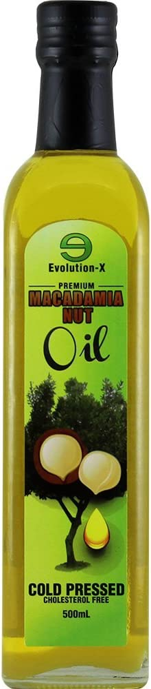 Species Nutrition Macadamia Nut Oil, Healthy Cooking Oil, Cooking Oil for Stir Fry, Sweet, Buttery, Great Tasting Oil, Omega 9 Monounsaturated Fats, Balanced Omega 3 & 6 Fats. (32 Servings)