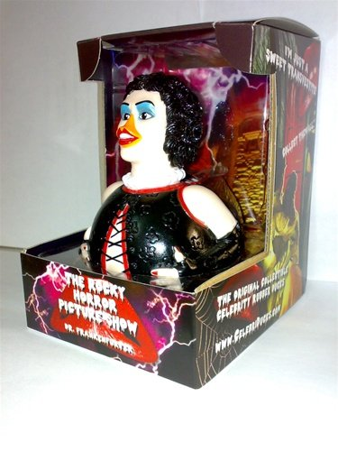 CelebriDucks Rocky Horror Picture Show Dr Frank-N-Furter RUBBER DUCK Tim Curry