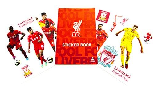 Steven Gerrard Liverpool (Official Liverpool FC Sticker Book)