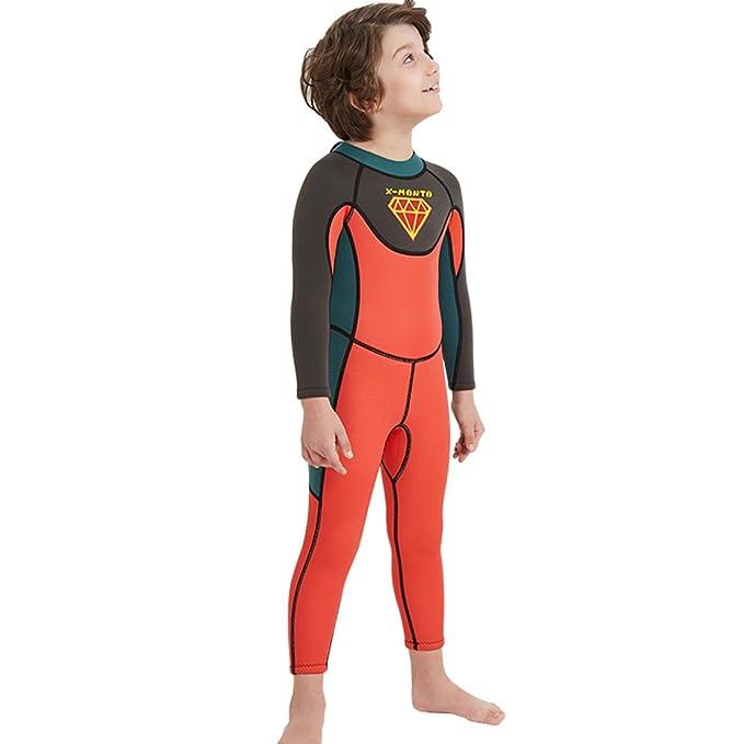 78bfe6b664 Amazon.com  Nataly Osmann Kids 2.5mm Wetsuit Neoprene 2.5mm Full Body  Diving