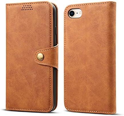 iphone 6s / iphone 6 対応 ケース手帳型 [easyBee] アイホン 6s / アイホン 6 ケース 対応 財布型 レザーケース スタンド機能 カード入れカバー マグネット おしゃれ プレゼントに最適 全面保護 (ブラウン)