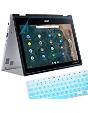"""Anti Blue Light Glare Screen Protector Fit 11.6"""" Acer Chromebook Spin 311 and Acer Chromebook R 11 Convertible Laptop (Keyboard Cover), Reduces Eye Strain Help Sleep Better, Whole Screen Guard"""