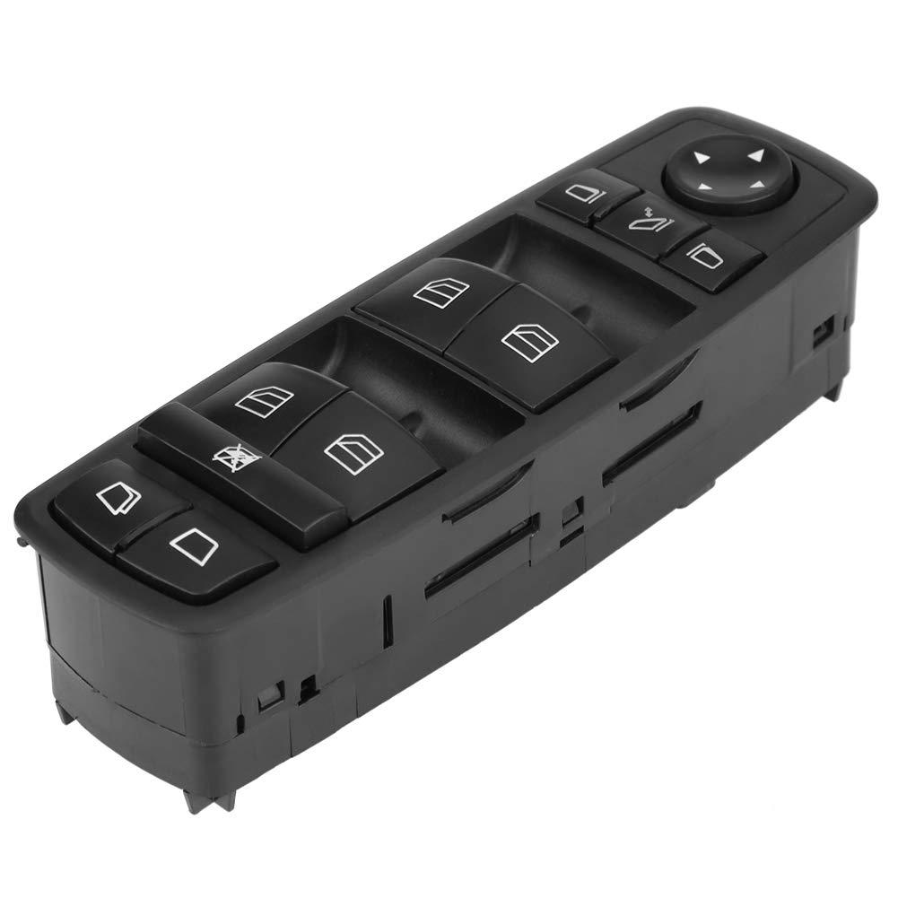 Cuque 2518300390 Power Window Switch A2518300390 Car Power Master Window Control Switch Button for Mercedes Benz GL R Class 2005-2012 Black