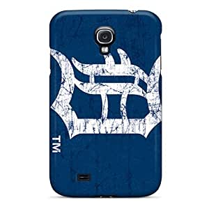 L.M.CASE Snap On Hard Case Cover Detroit Tigers Protector For Galaxy S4