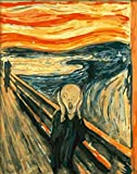DIY PBN-Paint by Numbers Famous Painting The Scream