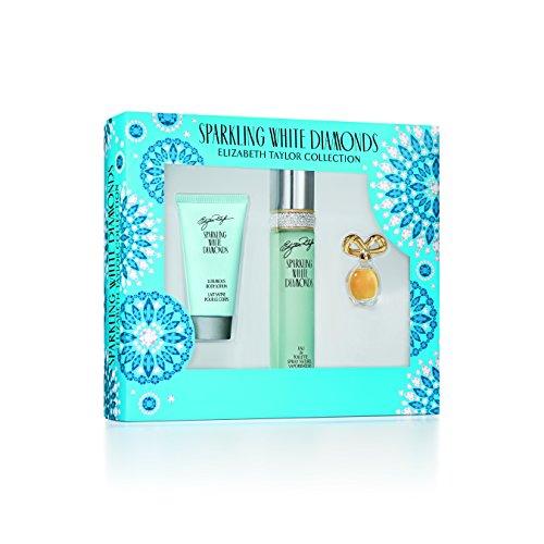 (Elizabeth Taylor Sparkling White Diamonds Ladies Gift Set, 1 Count)