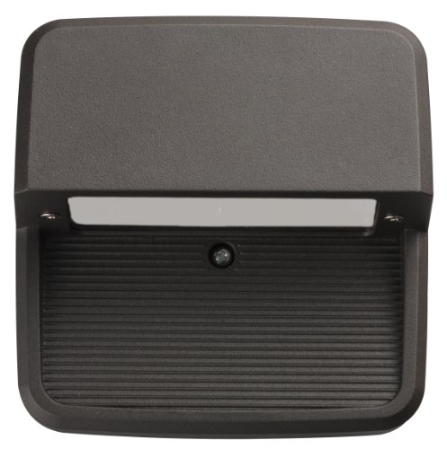 (Lithonia Lighting OLSS DDB M6 Outdoor LED Step Light Square, Black Bronze)