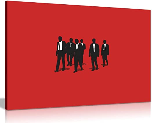 Resevoir Dogs Movie Canvas Wall Art Picture Print 36x24in