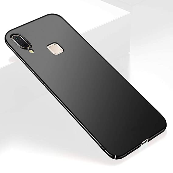 sneakers for cheap 0f414 94b2a TheGiftKart Ultra Slim 360 Matte Velvet Feel Hard Back Case Cover for Vivo  V9 / V9 Youth / V9 Pro (Jet Black)