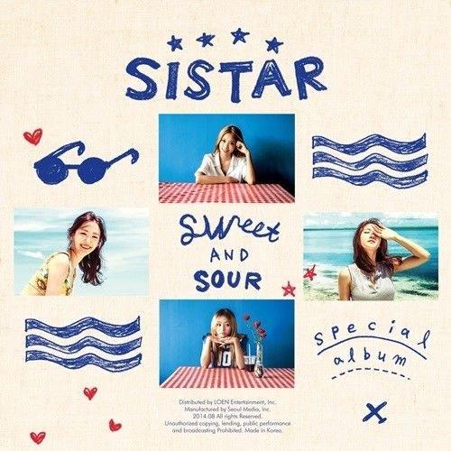 SISTAR [SWEET & SOUR] Special Album CD+Photobook+Photocard+Tracking Number K-POP SEALED