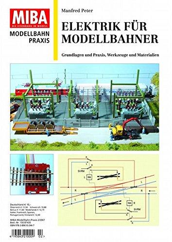 Elektrik für Modellbahner - Grundlagen und Praxis, Werkzeuge und Materialien - MIBA Modellbahn Praxis
