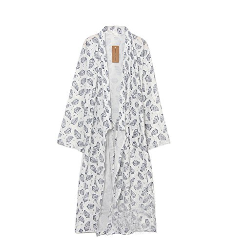 FANCY PUMPKIN Men's Yukata Robes Kimono Robe Khan Steamed Clothing Pajamas (08 Pumpkin)