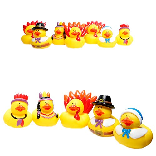 Fun Express Rubber Duckie Thanksgiving
