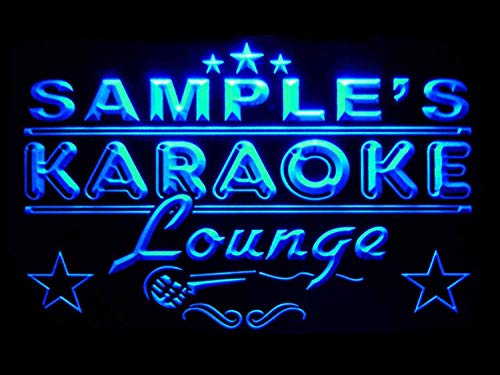 zed Custom Karaoke Lounge Bar Beer Neon Sign ()