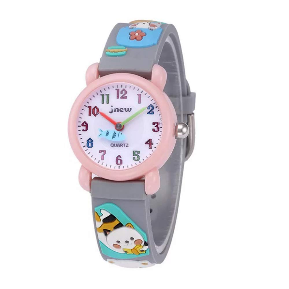 GZCY Toys Gift for 3-12 Year Old Girls Kids, Kids Waterproof Watches Gift for 3-12 Year Old Wristwatch for Girl Age 3-12 Toys Gift for Kids Children Birthday Present