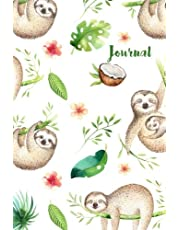Journal: 6x9 Sloth Journal - Gift for Sloth Lovers - Sloth Gifts