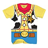Disney Toy Story Sheriff Woody Cowboy Costume Adult T-Shirt