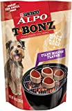 Purina Alpo T-Bonz Brand Dog Treats, Filet Mignon Flavor, Steak-Shaped, 10-Ounce Pouch, Pack Of 1 For Sale