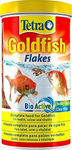 Tetra Goldfish Flakes – Alimento para todos los peces dorados y otros peces de agua fría, 1 L