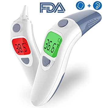 Baby Ear And Forehead Thermometer Accurate Professional 4 In 1 Digital Medical Infrared Body Fever Thermometers Punctual Timing Baby Care Mother & Kids