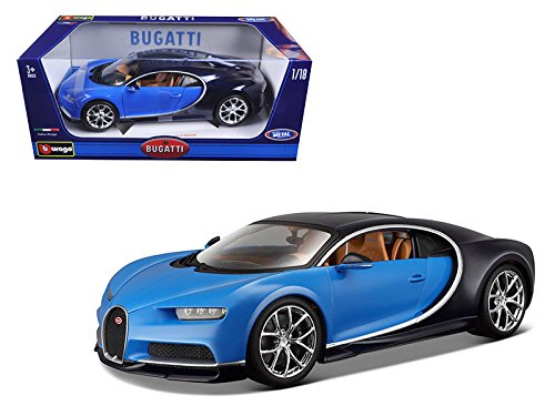 2016 Bugatti Chiron Blue 1/18 Diecast Model Car for sale  Delivered anywhere in USA
