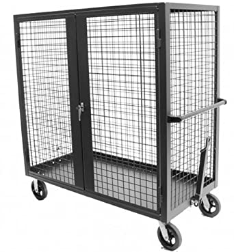 Valley craft f89556 steel wire grid panel security truck for Valley craft hand truck
