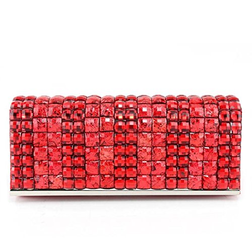 Diamante De La Manera Señoras De Bolso Banquete Nuevas Chicas Bolsa Teléfono Móvil Red