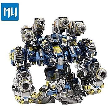 Amazon.com: 2018 MU 3d metal Puzzle motor turbina montar ...