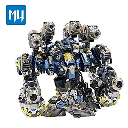 Amazon.com: Puzle de metal 3D 2016 MU YM-N020 con ...