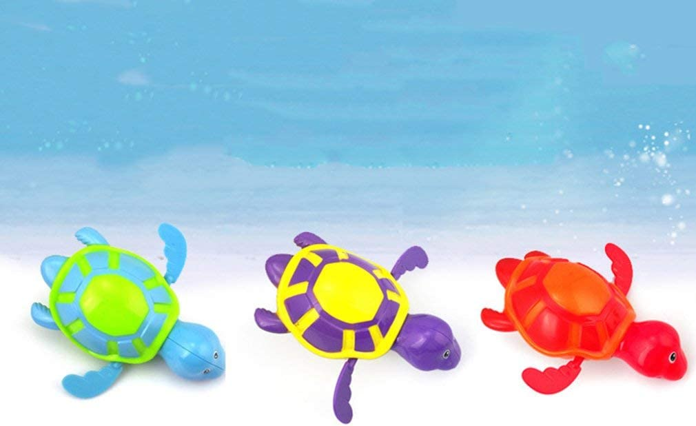 Hippo Shower Spray Toys for Toddler Kids Swimming Tub Bathtub Pool Cute Swimming Turtle Toys for Boys Girls Pool Toys Toddler Bath Swimming Turtle Toy for Baby Toddler