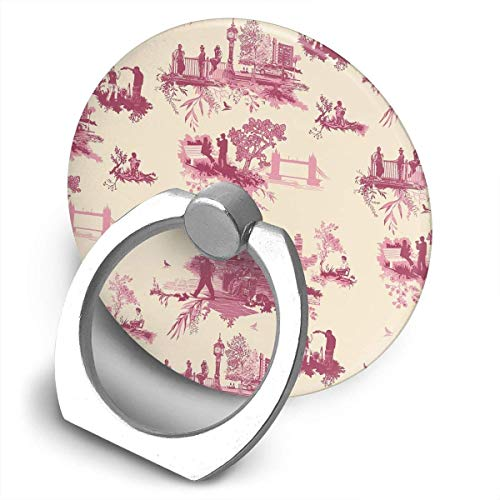 Finger Ring Holder Stand London Toile 360° Rotation Grip Mounts Style Car Mount for All Cell Phones Tablets