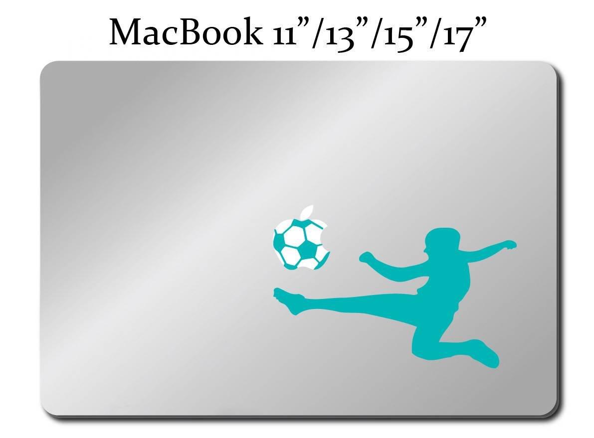 MACBOOK Mac Pro Air Sticker Apple Soccer M36 FOOTBALL PLAYER Decal LAPTOP