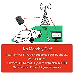 Vyncs GPS Tracker No Monthly Fee OBD - Five Stars