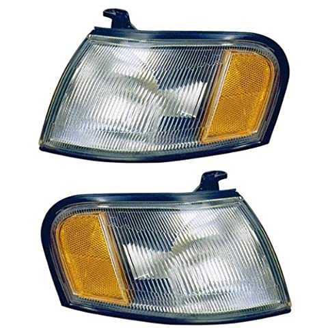 1995-1998 Nissan 200SX & 1995-1999 Sentra Corner Park Light Turn Signal Marker Lamp Pair Set Right Passenger AND Left Driver Side (1995 95 1996 96 1997 97 1998 98 1999 - Turn Signal Park Light Lamp