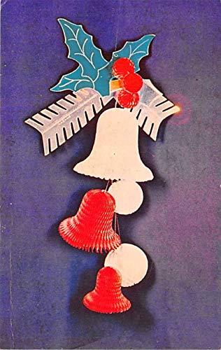 Christmas Trees Post Card New Holiday Decoration, Beistle Company Shippensburg, Pennsylvania, USA 1957