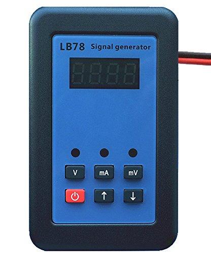 TIWWS LB78 4-20mA//0-10V//mV Resistance Current Voltage Signal Generator Signal Source Calibrator Signal Tester Function Generator LCD Display