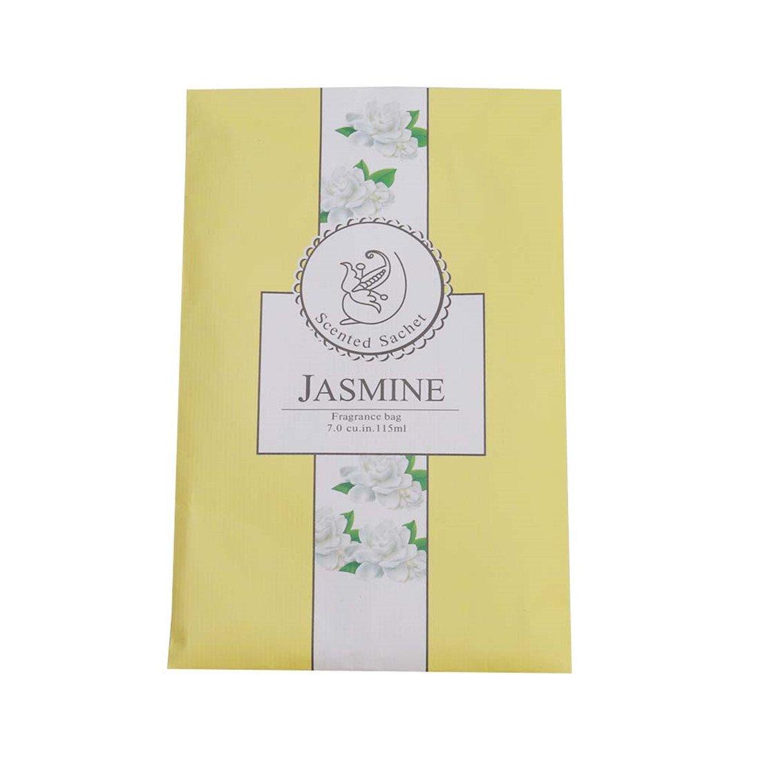 Lalang多機能香りつきHanging SachetスパイスFragranceバッグforクローゼットワードローブ車 B07B4WD4Y7 Yellow Jasmine