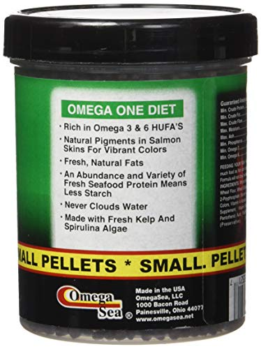 Pictures of Omega One Super Veggie Pellets Small 3.5oz SHOMHNK004 4