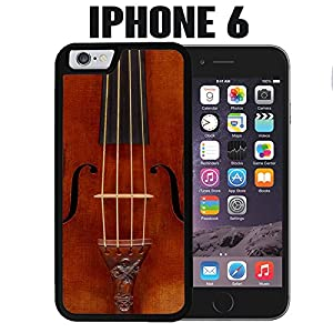iPhone Case Cello Violin for iPhone 6 Rubber Black (Ships from CA)
