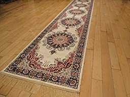 Silk Long Hallway 2x8 Feet Ivory Rugs Hallway Rugs Area Rug Runners 2x7 Ivory Traditional Rug