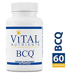 Vital Nutrients - BCQ (Bromelain, Curcumin & Quercetin) - Herbal Support for Joint, Sinus and Digestive Health - Gluten Free - 60 Capsules