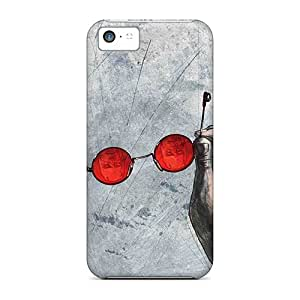 Scratch Protection Cell-phone Hard Covers For Iphone 5c With Provide Private Custom HD Daredevil I4 Pattern JohnPrimeauMaurice